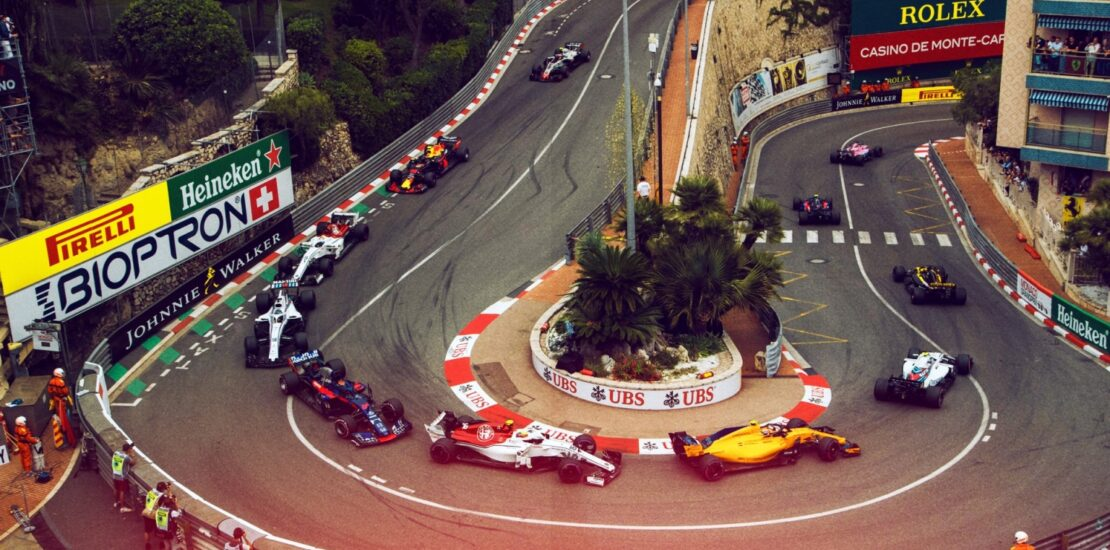 Monaco Property with Formula 1 Track View